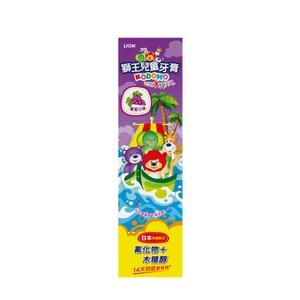 獅王兒童牙膏-葡萄45gX12