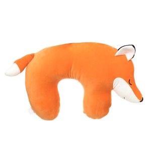 HOLA 彈力超柔造型頸枕42x67cm 狐狸