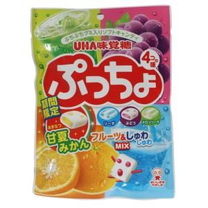 日本味覺四色水果軟糖100g