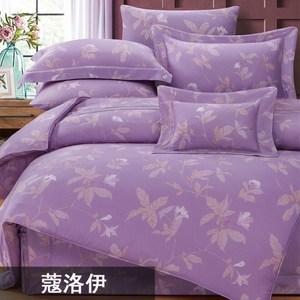 【貝兒】100支尊爵天絲四件式兩用被床包組 多款(特大)蔻洛伊