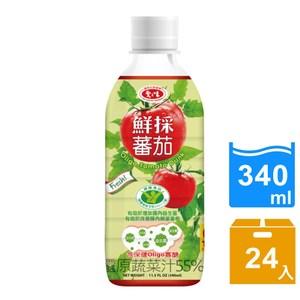 【愛之味】Oligo健字號鮮採蕃茄汁340ML(24瓶/箱)*1箱組
