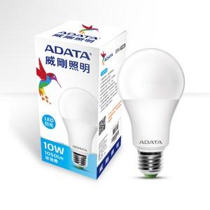 ADATA 威剛照明 10W大角度LED球泡燈-白光(6入)