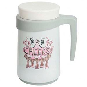 牛頭FreeII420cc真空保溫杯 白色cheers