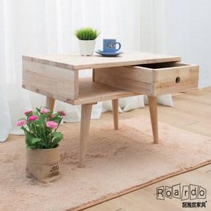 【諾雅度】原生實木2尺含抽置物櫃(低腳/附一抽屜)
