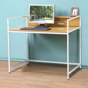《C&B》歐斯庭三尺升降電腦工作書桌-淺木紋