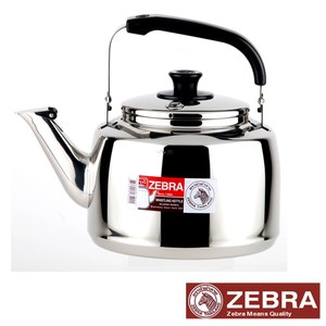 【Zebra 斑馬】#304不鏽鋼笛音壺(A)-3.5L