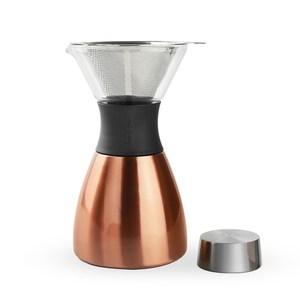 Asobu Pour Over 經典手沖不鏽鋼保溫咖啡濾壺奢華金