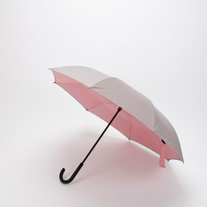 防滴水抗UV弧面反向傘-粉灰