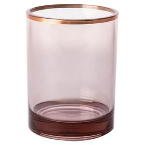 HOLA 現代方框漱口杯 香檳金