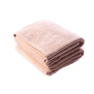 HOLA 土耳其純棉浴巾2入(雲粉)78x140cm