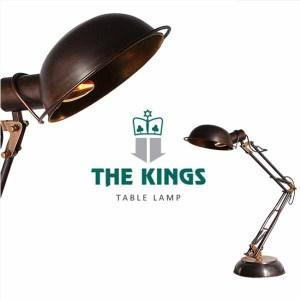 THE KINGS Socrates蘇格拉底復古工業檯燈