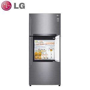 原廠好禮送★【LG樂金】525L變頻上下門冰箱GN-DL567SV