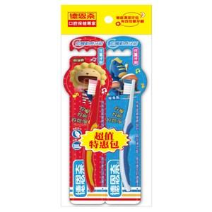 德恩奈前觸動感兒童牙刷X12入(顏色隨機出貨)