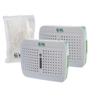 GW水玻璃無線式迷你除濕機超值組