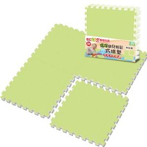 樂格 粉彩環保巧拼 田園綠60X60X2cm 4入