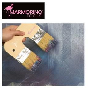 【Marmorino Tools】專業牆面塗料 雙頭毛刷180X160mm