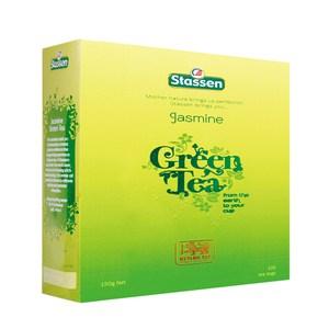 《Stassen》司迪生茉莉綠茶(紙盒裝裸包)1.5g*100茶袋/盒