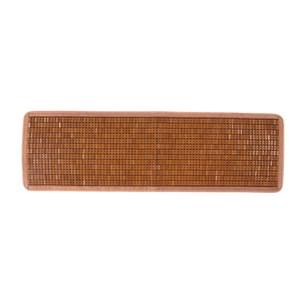 經典碳化棉繩麻將竹坐墊 三人