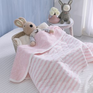 IN HOUSE-嬰兒針織毯(四色)粉色