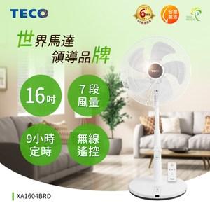 TECO東元 16吋微電腦遙控DC節能風扇 XA1604BRD
