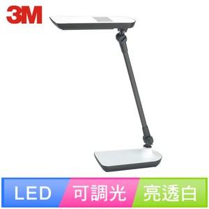 【3M】58度LED可調光博視燈桌燈檯燈LD6000(黑/白/綠)亮透白