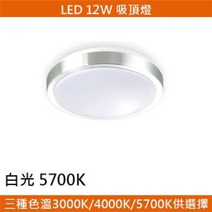 HONEY COMB LED 12W鋁框吸頂燈 白光 T04935