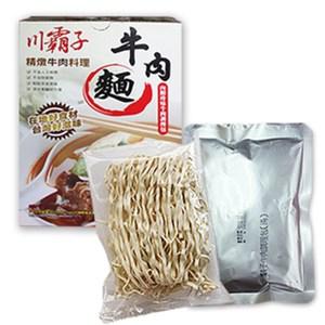 【那魯灣】川霸子牛肉麵 5包  (紅燒、精燉/385g/包) 精燉5包  (38