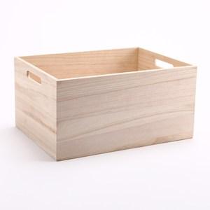 萊爾原木手作木箱 大