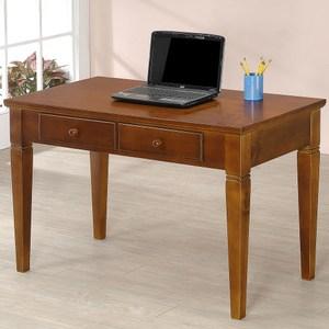 Homelike 文森4尺實木書桌