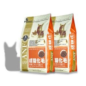 ANF 美國愛恩富 成貓化毛配方 貓飼料 1.5kg X 2包