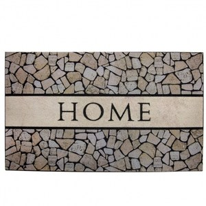 HOLA home波比刮泥墊45x76cm 摩登石紋