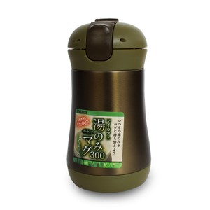 日本Pearl 和風彈蓋式保溫杯300ml(靚茶綠)
