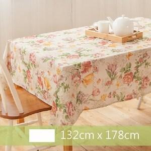 Robert Green格林家飾 布桌巾 粉色玫瑰園 132x178c