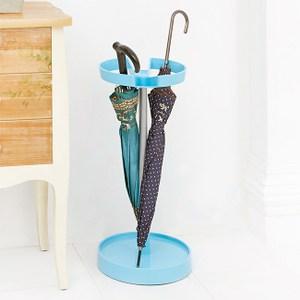馬卡龍彩色收納雨傘架(藍色)