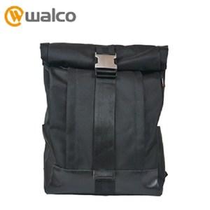 Walco 城市通勤後背包(酷黑)