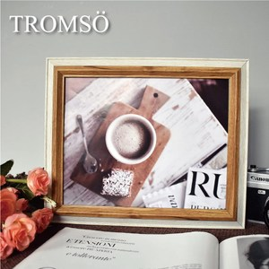 TROMSO巴黎撞色木紋8x10相框-原木