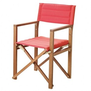 陶斯桉木導演椅 活力紅