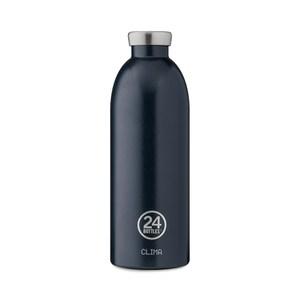 義大利 24Bottles 不鏽鋼雙層保溫瓶850ml - 午夜藍
