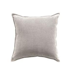 莎爾素色絨綿環保棉抱枕45x45cm灰