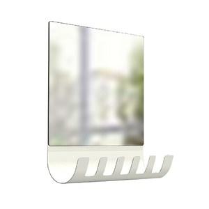 一體成型鎖壁鏡附6勾
