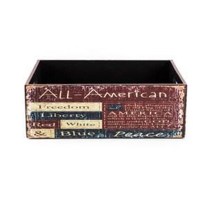 莫爾復古可堆疊大收納盒 美國