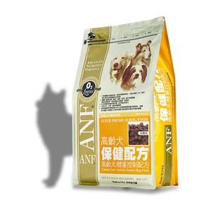 ANF 美國愛恩富 老犬保健配方 大顆粒 狗飼料 15kg X 1包