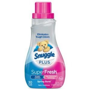 美國Snuggle熊寶貝衣物柔軟精3倍濃縮(春天花香)1430ml*2