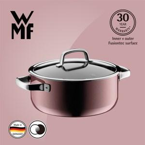 【WMF】Fusiontec 低身湯鍋 24cm 4.4L(赭紅色)