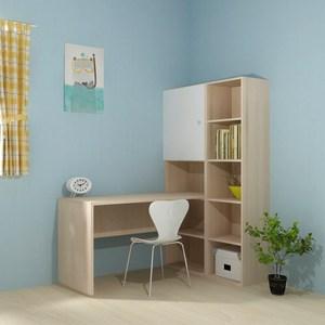 (南區) 寬105cm 五層書櫃桌 丹麥櫸木