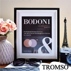 TROMSO巴黎撞色木紋8x10相框-黑