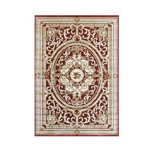 維羅納立體厚絲毯160x230cm 羅浮紅