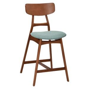 【YFS】Gemma實木中吧抬椅-48x54.5x94cm(二色可選)