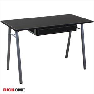 【RICHOME】ID柏德皮面附抽工作桌