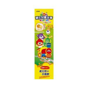 獅王兒童牙膏-橘子45gX12
